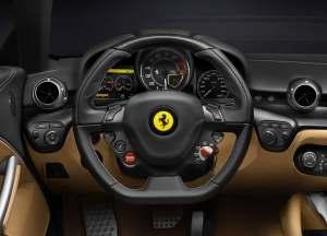 2013 Ferrari F12 Berlinetta steering wheel