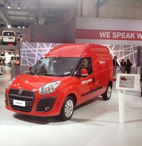 Fiat Doblo Cargo XL front