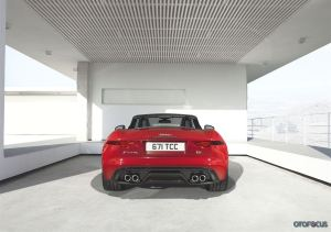 jaguar f type rear
