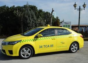 DMA elektrikli Taksi