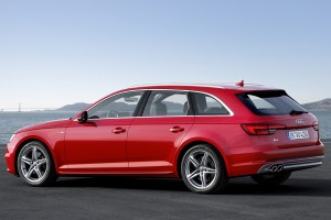 New Audi A4 Avant Tango Red & Hankook